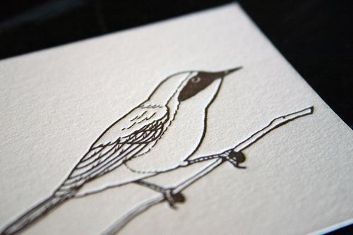 Letterpresscard