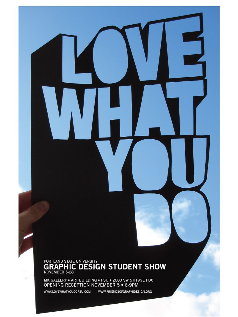 LOVEWHATYOUDO_POSTER