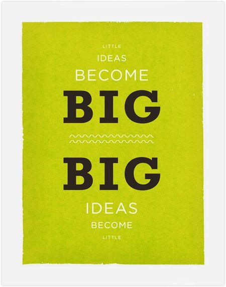 Big-little-ideas