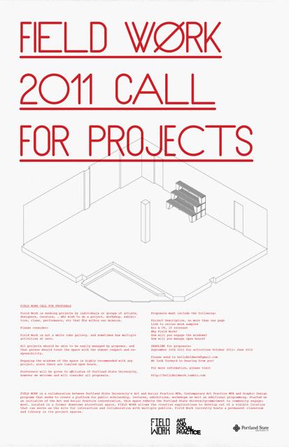 Field Work Online Poster