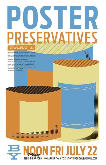 Poster preservatives -POSTER