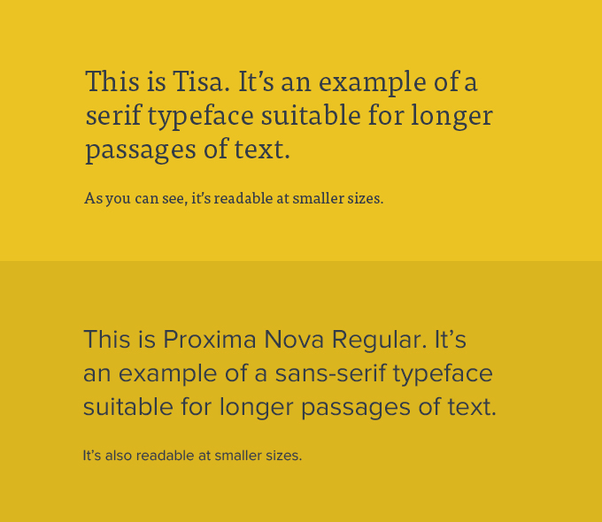 2B Typesetting Exercise: Text Faces and Body Copy Studies - 354